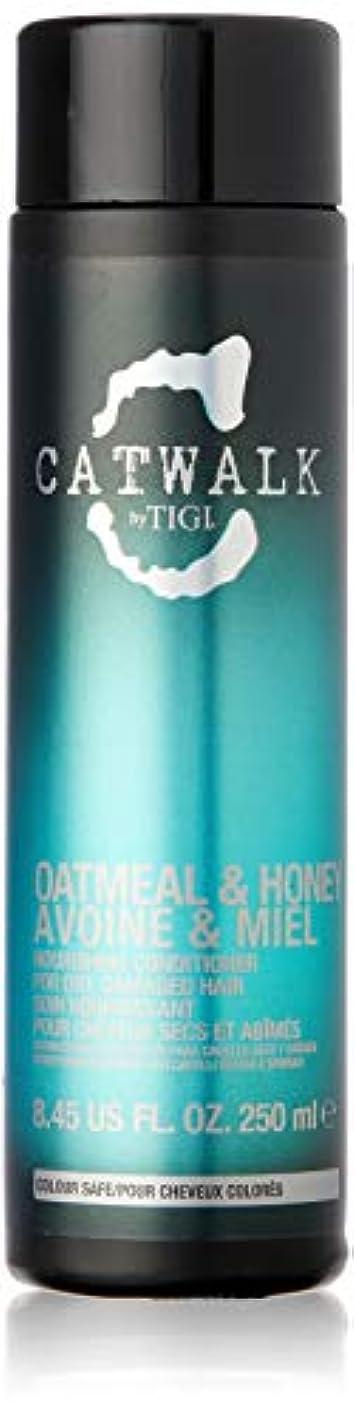 無視ズボン鉛ティジー Catwalk Oatmeal & Honey Nourishing Conditioner (For Dry, Damaged Hair) 250ml [海外直送品]