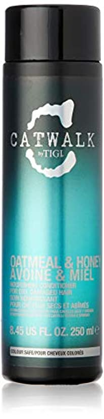 一貫した罰する韓国ティジー Catwalk Oatmeal & Honey Nourishing Conditioner (For Dry, Damaged Hair) 250ml [海外直送品]