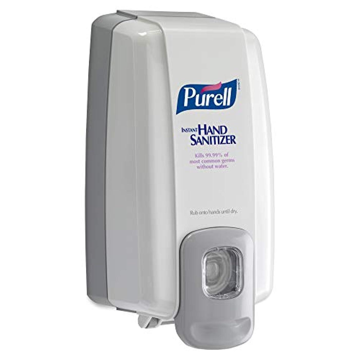 忘れる海岸船酔いNXT Instant Hand Sanitizer Dispenser, 1000ml, 5-1/8w x 4d x 10h, WE/Gray (並行輸入品)