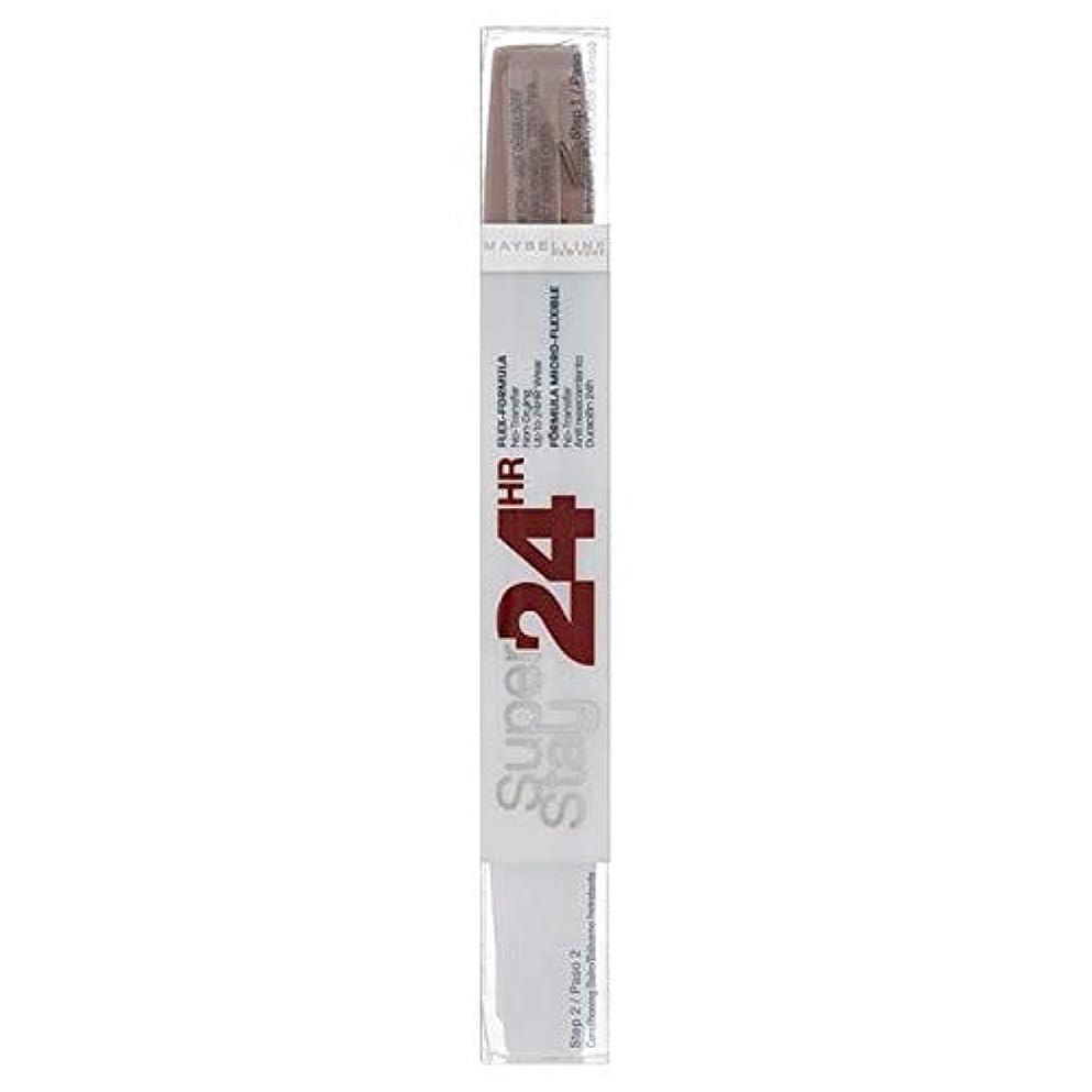 汚染する起こりやすいスチール[Maybelline ] メイベリンSuperstay 24時間口紅ソフトトープ - Maybelline Superstay 24HR Lipstick Soft Taupe [並行輸入品]