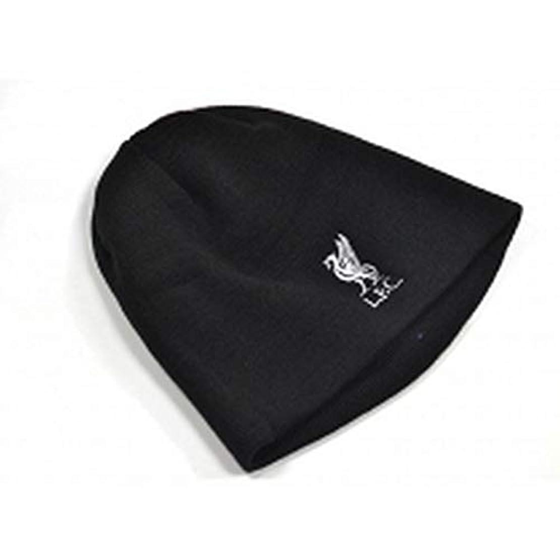 一支払い教育するリバプール F.C. ニット ハット BK ニット帽/Liverpool F.C. Knitted Hat BK