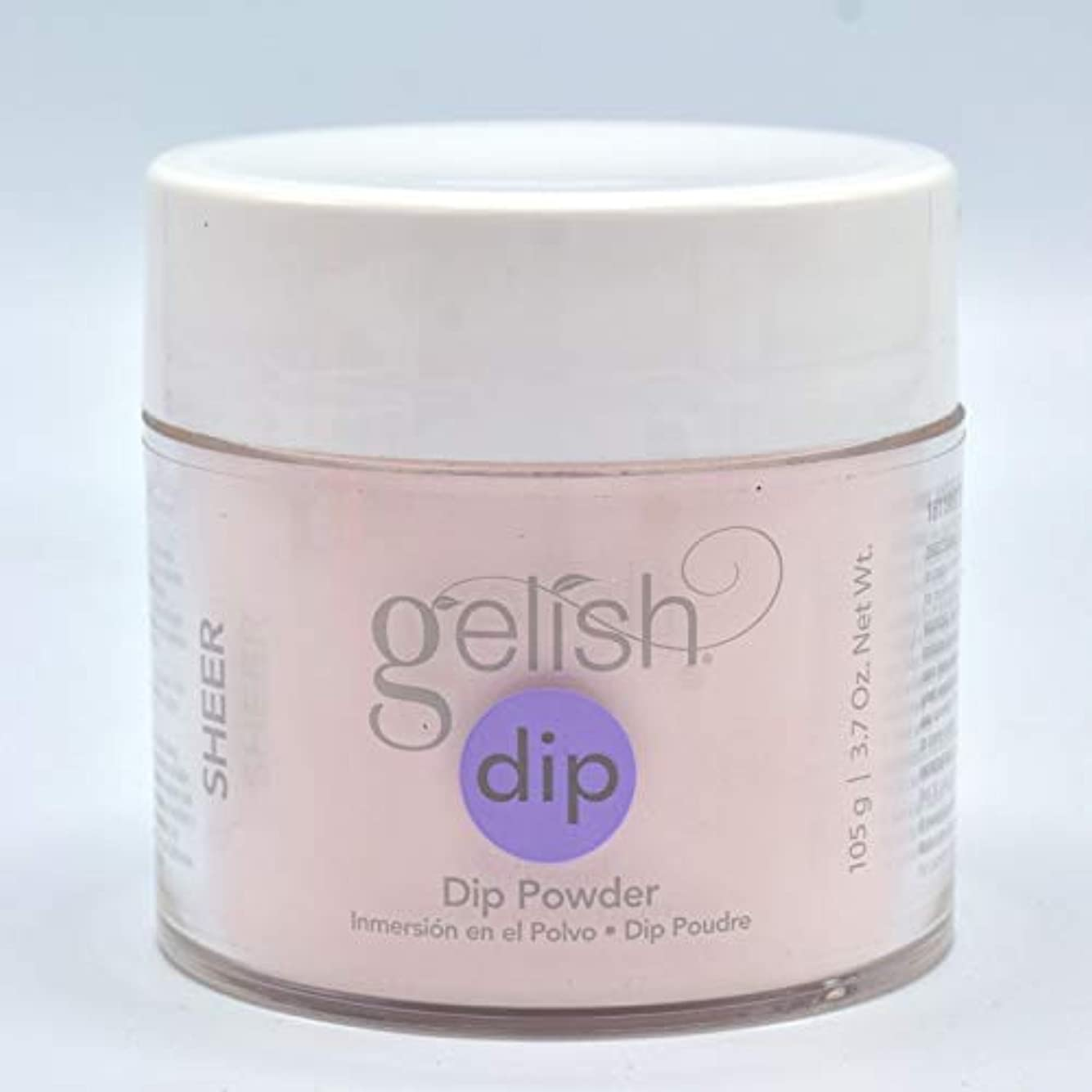 はっきりしない麦芽心配するHarmony Gelish - Acrylic Dip Powder - Sheer & Silk - 105g / 3.7oz