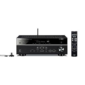 ヤマハ AVレシーバー RX-V583 7.1ch Dolby Atmos DTS:X Bluetooth Wi-Fi ネットワークオーディオ ハイレゾ ブラック RX-V583(B)