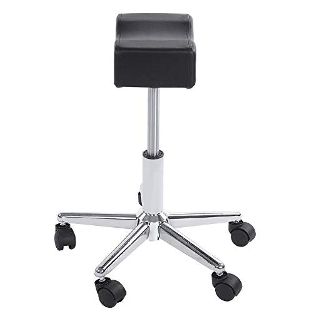 バンカー散る指定調節可能な椅子、高さ調節可能なローリングチェアホーム用可動ホイール付きの快適なシートクッションスツール