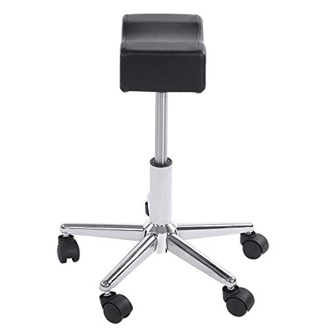 申込み遅らせるミント調節可能な椅子、高さ調節可能なローリングチェアホーム用可動ホイール付きの快適なシートクッションスツール