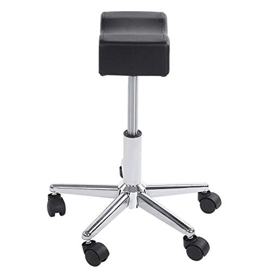 民間人シンプトン統計的調節可能な椅子、高さ調節可能なローリングチェアホーム用可動ホイール付きの快適なシートクッションスツール