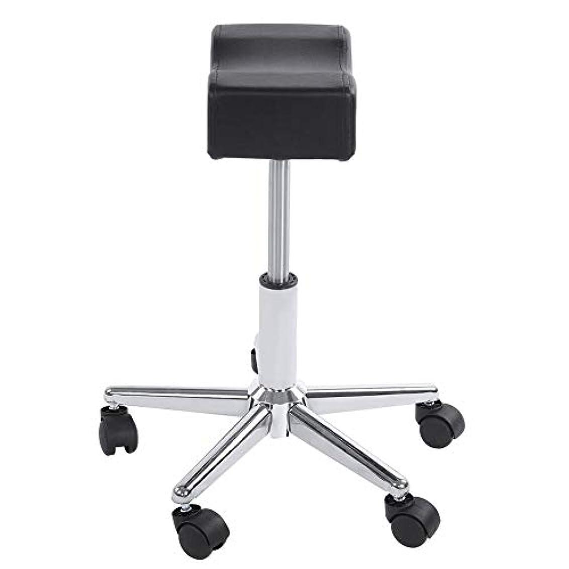 応援するリズミカルな獲物調節可能な椅子、高さ調節可能なローリングチェアホーム用可動ホイール付きの快適なシートクッションスツール
