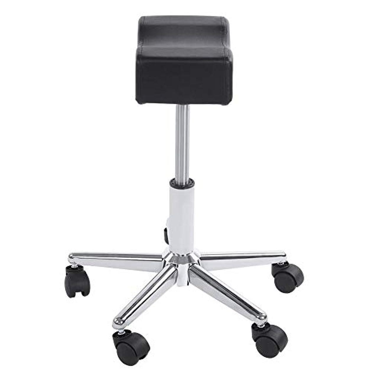 内なる起きるオーナー調節可能な椅子、高さ調節可能なローリングチェアホーム用可動ホイール付きの快適なシートクッションスツール