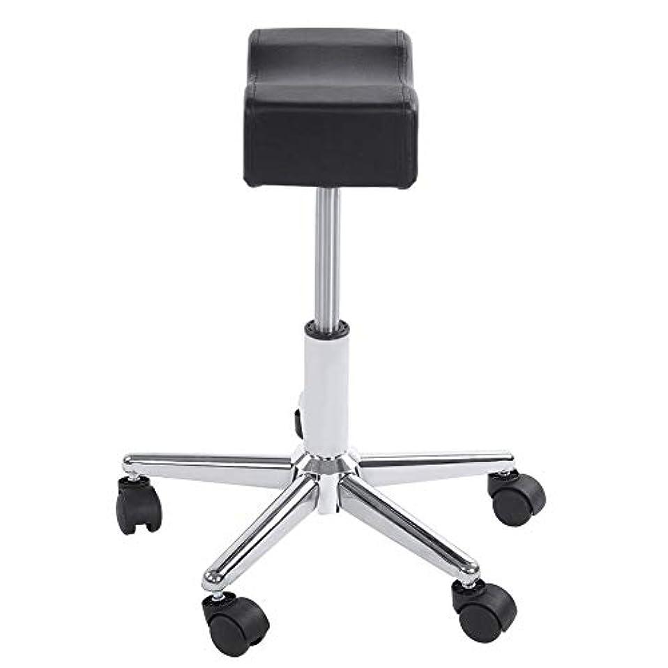 近々追記志す調節可能な椅子、高さ調節可能なローリングチェアホーム用可動ホイール付きの快適なシートクッションスツール