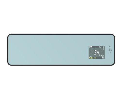 ユピテル スーパーキャットGPSアンテナ搭載ミラー一体型レーダー探知機 SCX-M205