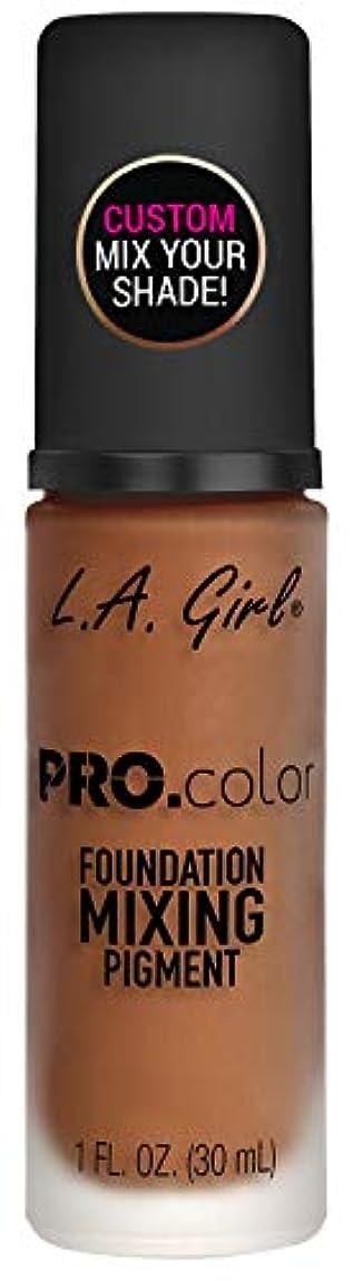 悪名高いグラフ読書をするL.A. GIRL Pro Color Foundation Mixing Pigment - Orange (並行輸入品)