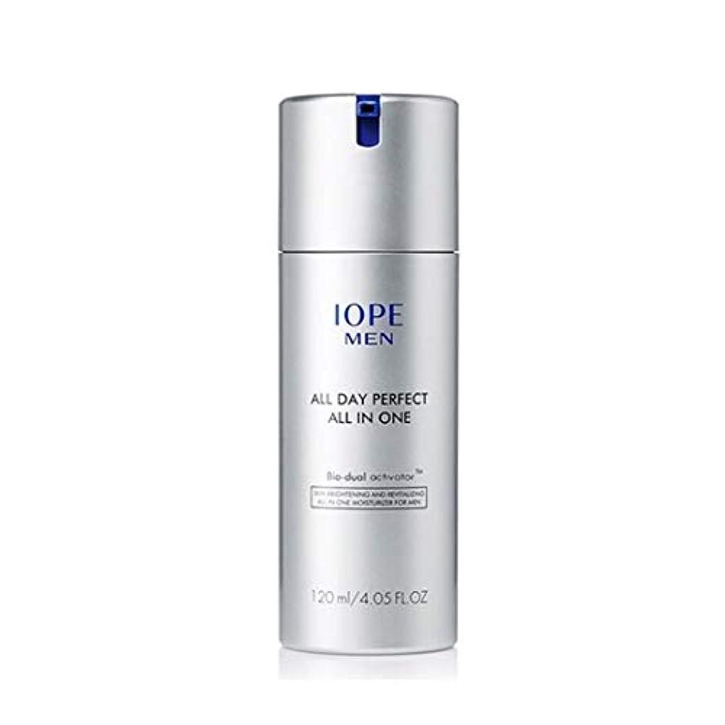 コンパス不良品遺伝子アイオペメンズコスメオールデイパーフェクトオールインワン120ml 韓国コスメ、IOPE Men All Day Perfect All in One 120ml Men's Cosmetics Korean Cosmetics...