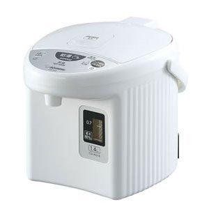 象印 マイコン沸とう電動ポット 1.4L ホワイトZOJIRUSHI ホテル・旅館の客室向けの電動ポット CD-KG14-WA