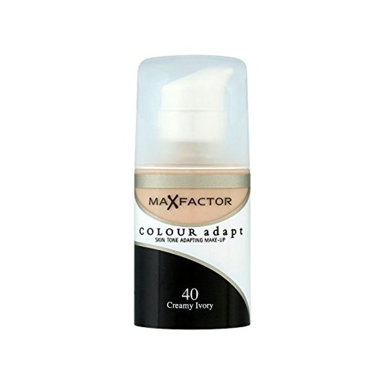 枯れるシティアマゾンジャングルMax Factor Colour Adapt Foundation Creamy Ivory 40 (Pack of 6) - マックスファクターの色は、基礎クリーミーな象牙40を適応させます x6 [並行輸入品]