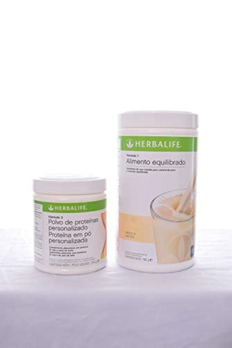 カートそれら弁護人Herbalifeフォーミュラ1 Shake mix-dutchチョコレート( 750g ) +式2 Personalized Protein Powder ( PPP ) -360g Unflavoured。
