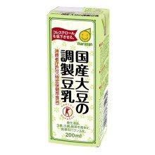 マルサン 国産大豆の調製豆乳 200ml ×24本