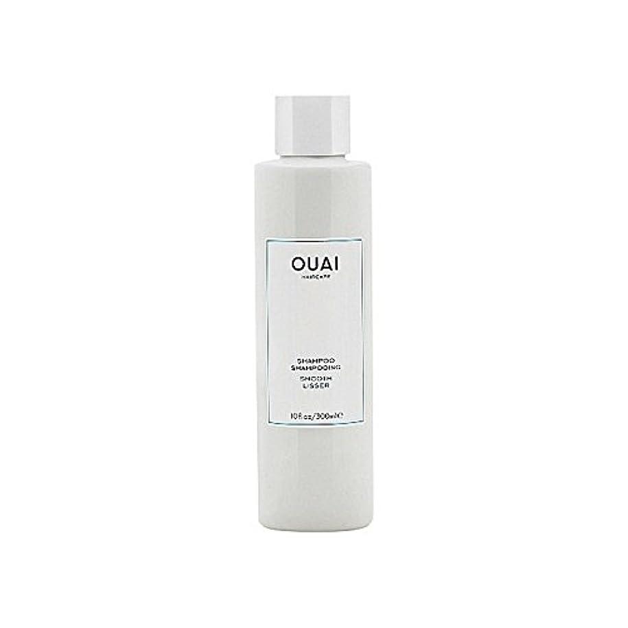 ピン勘違いする合法Ouai Smooth Shampoo 300ml - スムーズなシャンプー300ミリリットル [並行輸入品]