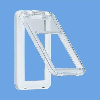 パナソニック(Panasonic)ワイド21保護カバー付SWプレート(1連 WTC79513W