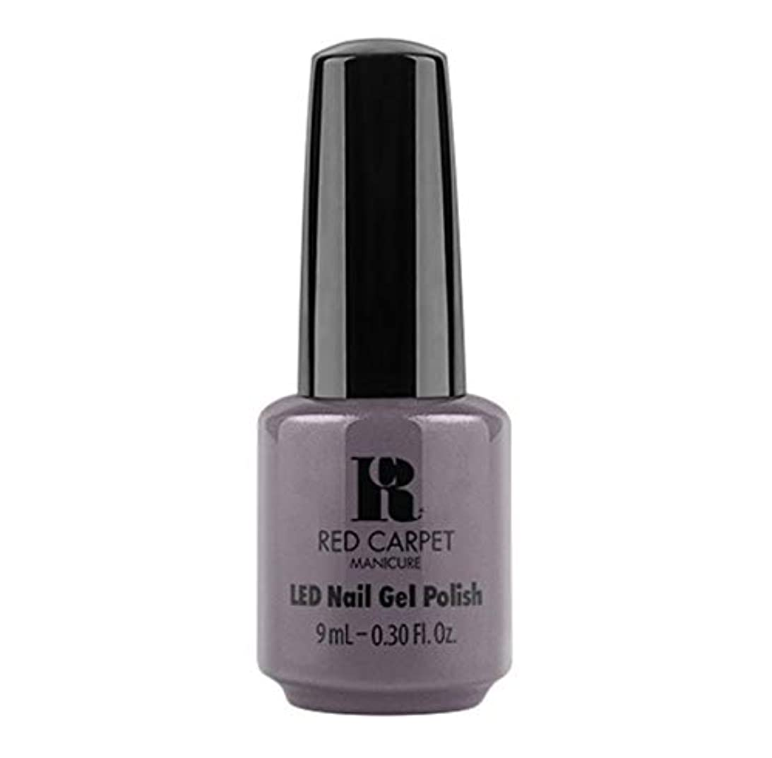 十分ですモジュール建築家Red Carpet Manicure - LED Nail Gel Polish - Grey Area - 9ml / 0.30oz