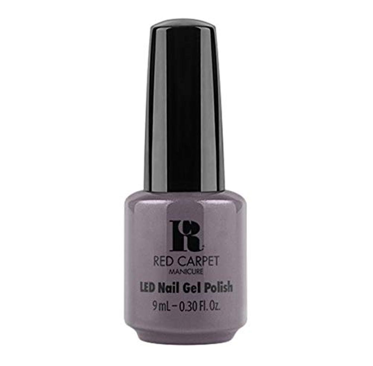 顔料瞑想的筋Red Carpet Manicure - LED Nail Gel Polish - Grey Area - 9ml / 0.30oz