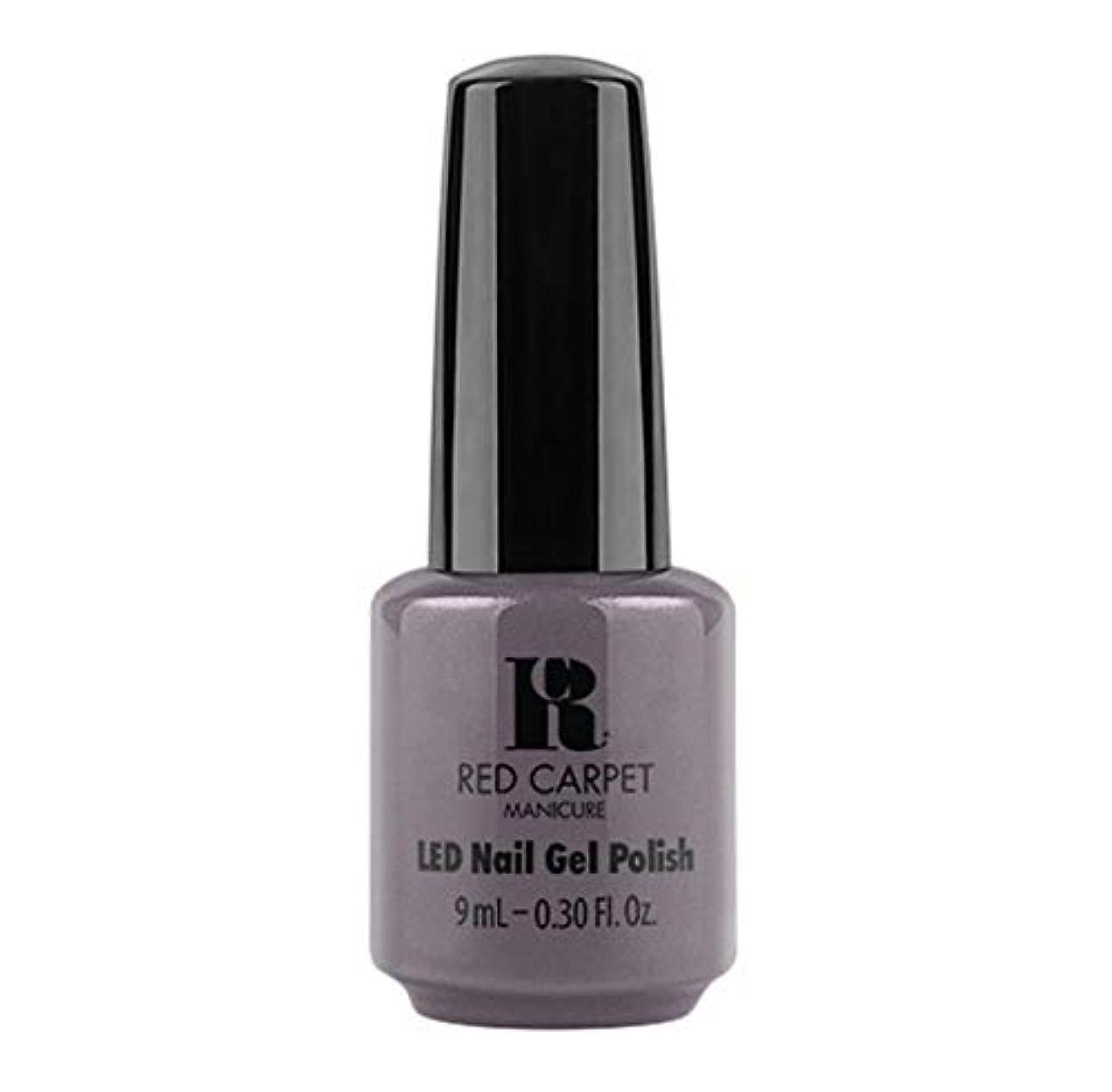 社員のぞき見メンタリティRed Carpet Manicure - LED Nail Gel Polish - Grey Area - 9ml / 0.30oz