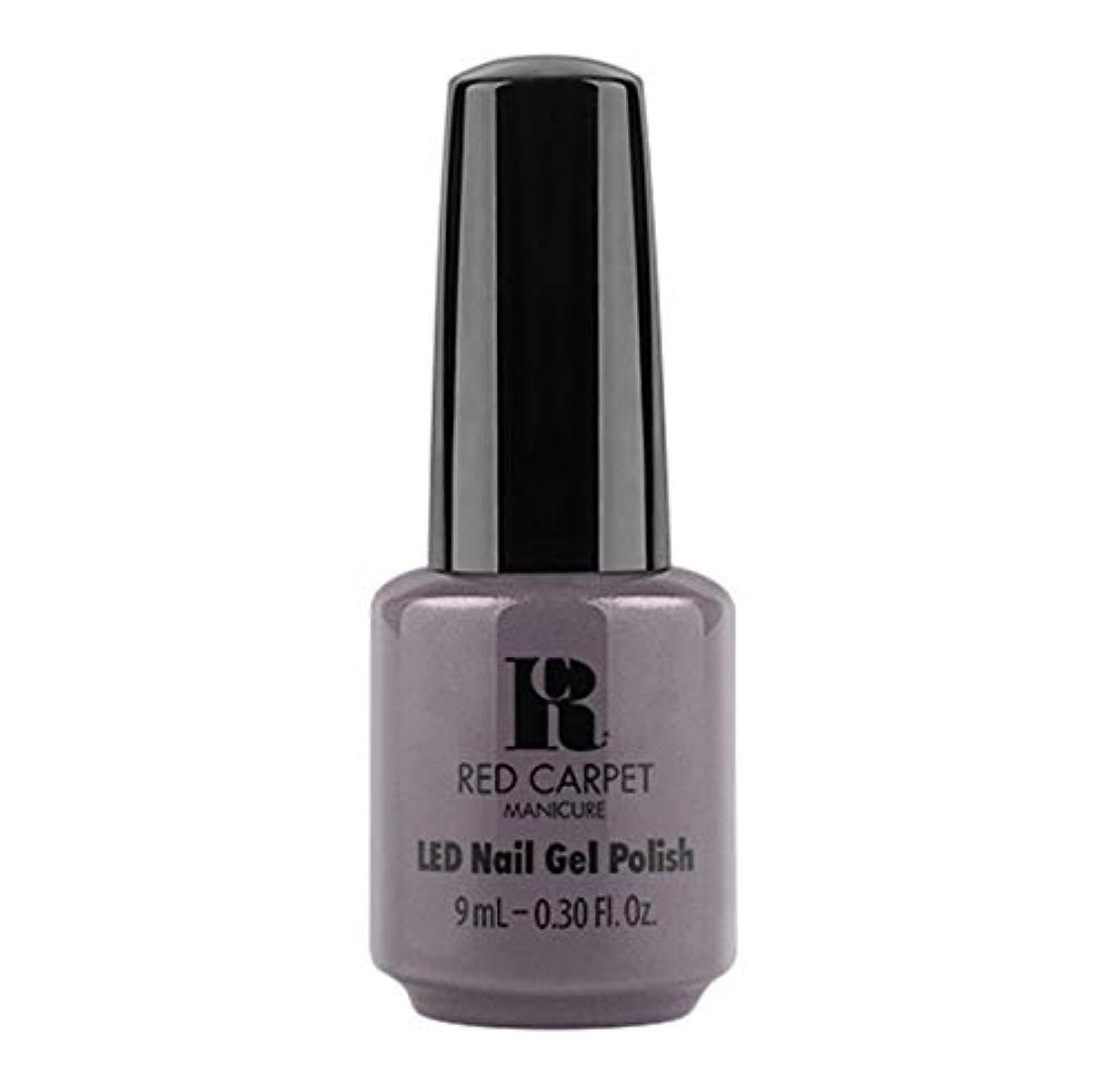 適用済みヒューバートハドソン自動Red Carpet Manicure - LED Nail Gel Polish - Grey Area - 9ml / 0.30oz