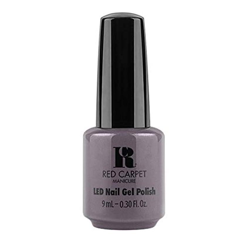 唯物論責める個人的なRed Carpet Manicure - LED Nail Gel Polish - Grey Area - 9ml / 0.30oz