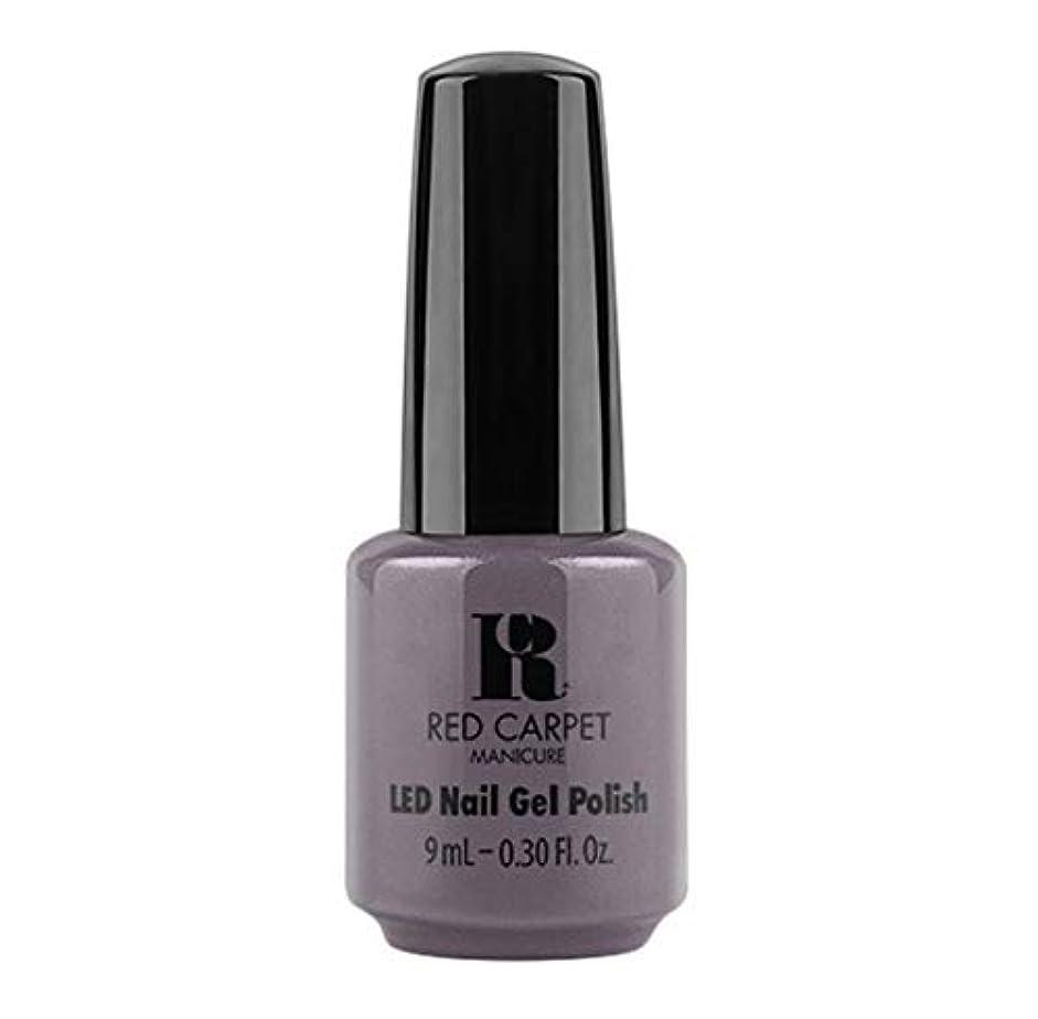 国歌驚いた多様なRed Carpet Manicure - LED Nail Gel Polish - Grey Area - 9ml / 0.30oz