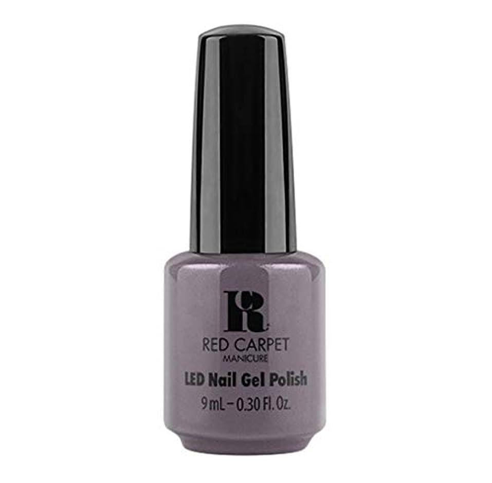 奇跡乳剤キルトRed Carpet Manicure - LED Nail Gel Polish - Grey Area - 9ml / 0.30oz