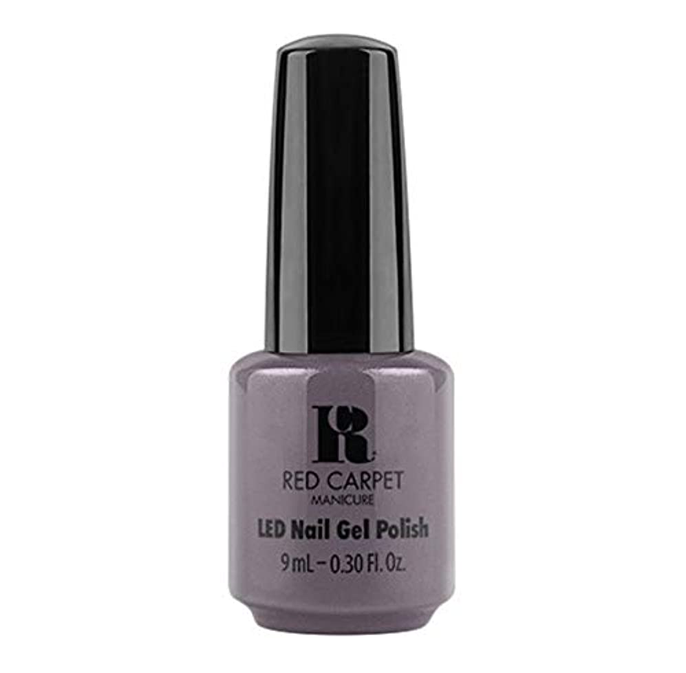 ポケットグレード費用Red Carpet Manicure - LED Nail Gel Polish - Grey Area - 9ml / 0.30oz