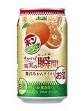アサヒチューハイ 果実の瞬間 × POM(ポン) 贅沢みかんテイスト 350ml×24缶(1ケース)