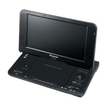 パナソニック ポータブルDVDプレイヤー 8.5V型液晶搭載 DVD-LS83-K