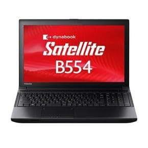 東芝 Dynabook Satellite PB554MFB4R7AA71 Windows7 Pro 32Bit/64Bit Corei3 4GB 500GB DVDスーパーマルチ 無線LAN Bluettoth 10キー付キーボード 15.6型液晶搭載ノートパソコン