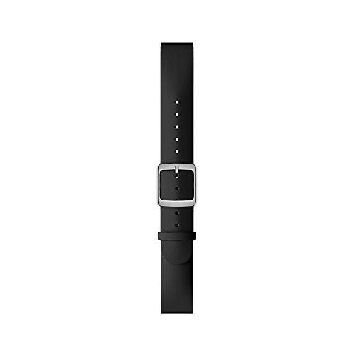 Nokia スマートウォッチ 専用バンド(18mm) パントンカラー ブラッ...