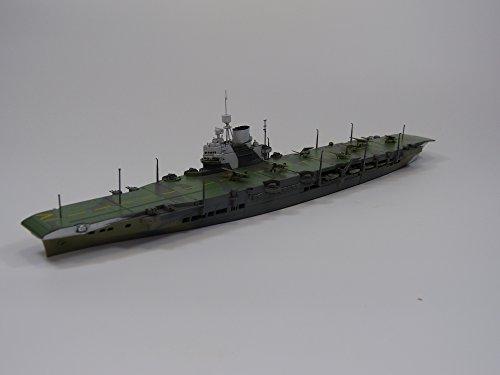 青島文化教材社 1/700 ウォーターラインシリーズ No.717 イギリス海軍 航空母艦 ビクトリアス プラモデル