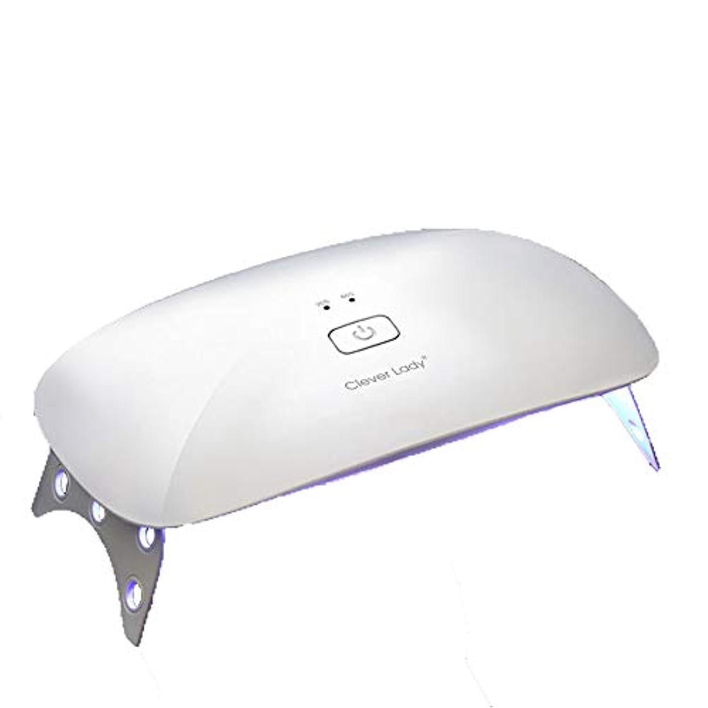 解決する踏みつけ家事をするLEDネイル光線療法機、ホームインテリジェント自動誘導ネイル硬化機折りたたみ式クイックドライヤー、ポータブルネイルポリッシャー