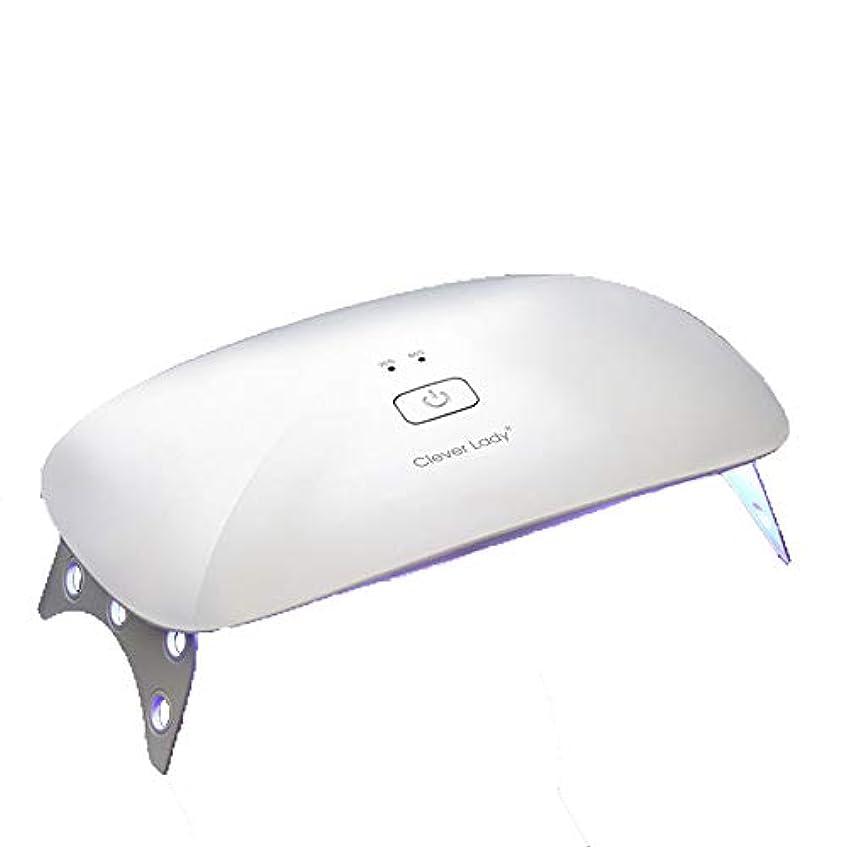 バイバイチューインガム十分LEDネイル光線療法機、ホームインテリジェント自動誘導ネイル硬化機折りたたみ式クイックドライヤー、ポータブルネイルポリッシャー