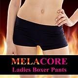 メラコア レディースボクサーパンツ (MELACORE) / ダイエット ダイエットインナー ボディケア 骨盤矯正 ボクサーパンツ レディース ハーブ 消臭