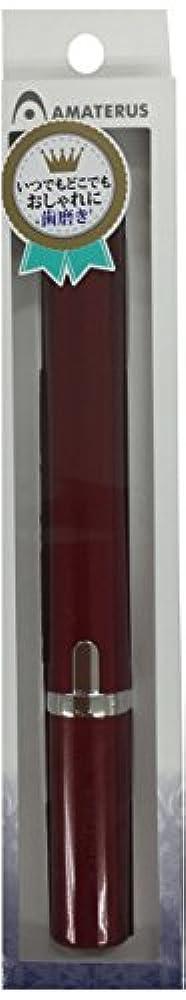 モータータックルわずらわしいアマテラス 携帯型音波振動歯ブラシ Primo(プリモ)K13 ワインレッド 1本