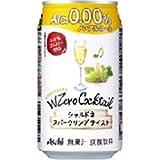 アサヒ ダブルゼロカクテル シャルドネスパークリング (ノンアルコール) 350ML 1缶 / アサヒビール株式会社