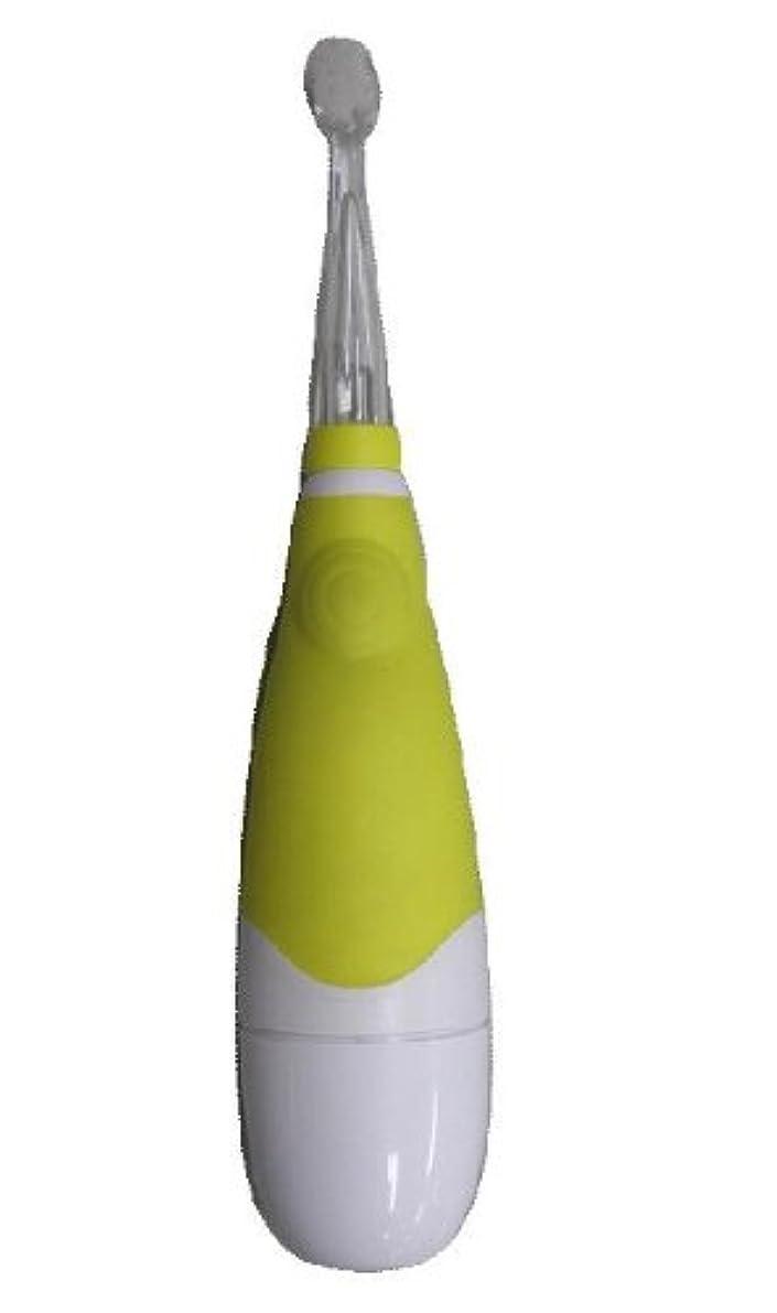 歯痛遺棄された子豚ヤザワ 赤ちゃん用電動歯ブラシ LED内蔵 オートオフ機能付 KIDS10YL
