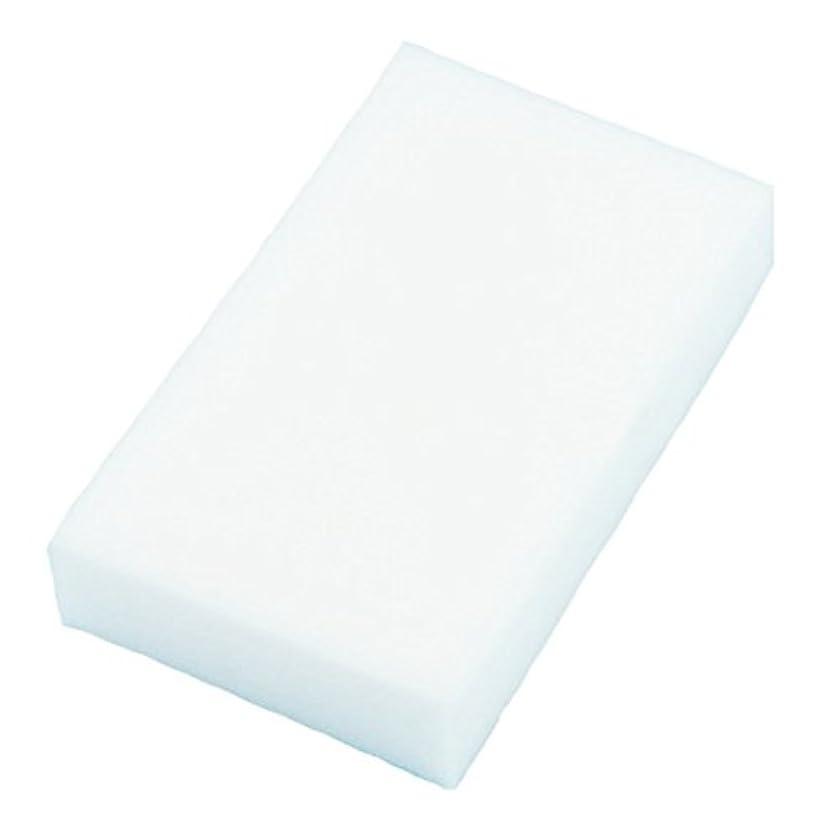 ACAMPTAR 20xマジックマルチスポンジ クリーンフォームクリーナー クレンジング消しゴム 洗車キッチン 10cmX6cmX2cm(白)