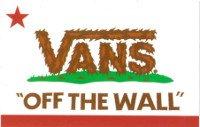 "VANS ""OFF THE WALL"" CALIFORNIA STICKER バンズオフザウォールカリフォルニアステッカー [並行輸入品]"