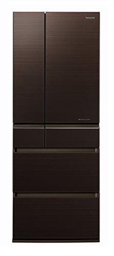 パナソニック 冷蔵庫 6ドア 600L パーシャル搭載 マチュアダークブラウン NR-F604HPX-T