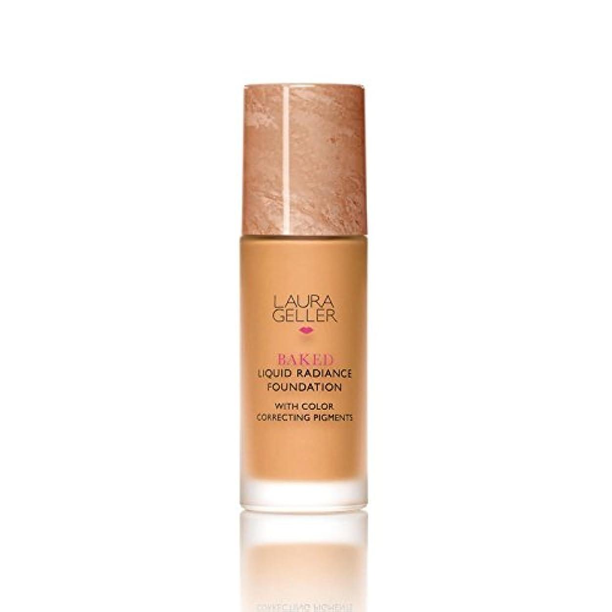 発疹参照取り付けLaura Geller New York Baked Liquid Radiance Foundation Tan (Pack of 6) - ローラ?ゲラーニューヨーク焼いた液体放射輝度基盤日焼け x6 [並行輸入品]
