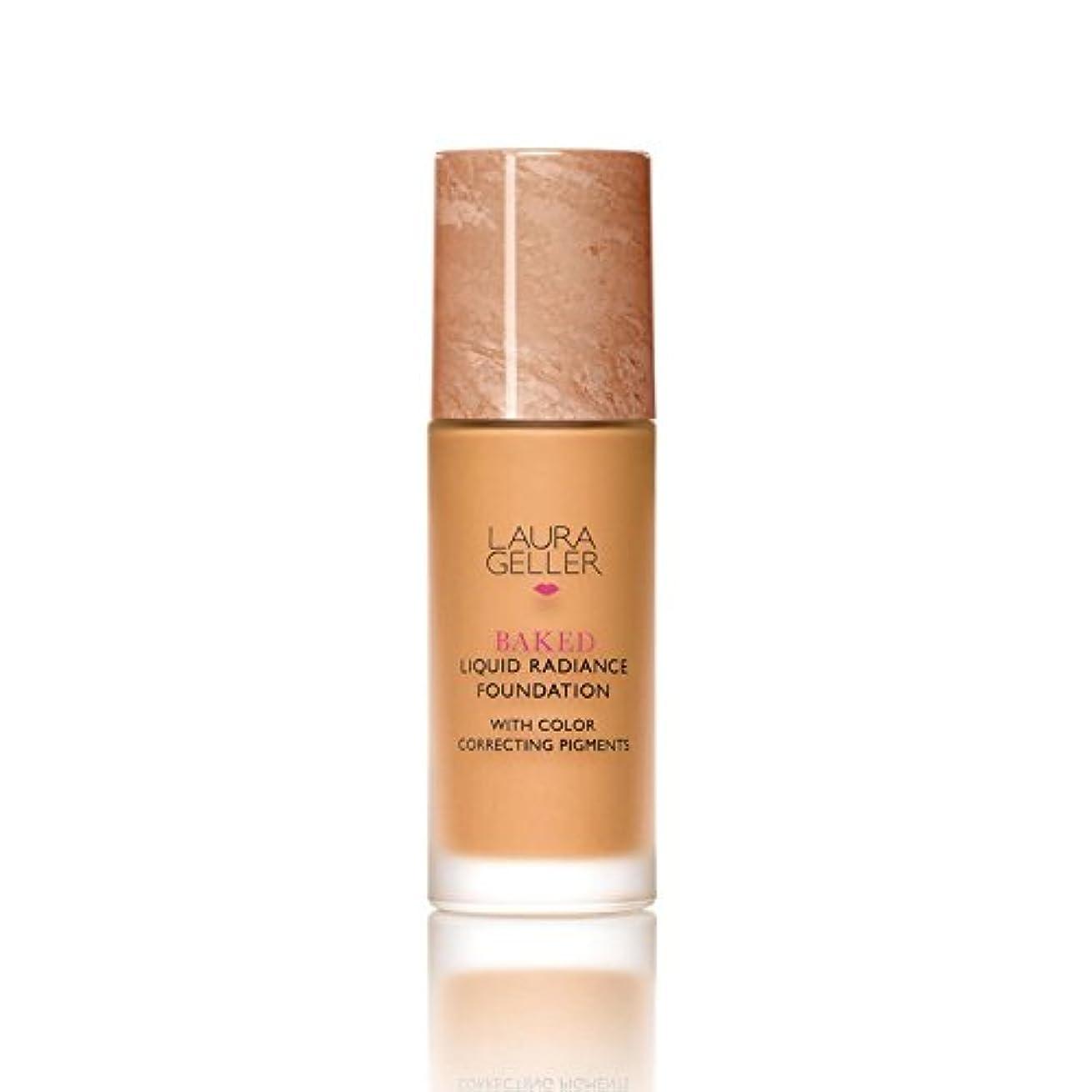 援助セットアップキャプションLaura Geller New York Baked Liquid Radiance Foundation Tan (Pack of 6) - ローラ?ゲラーニューヨーク焼いた液体放射輝度基盤日焼け x6 [並行輸入品]