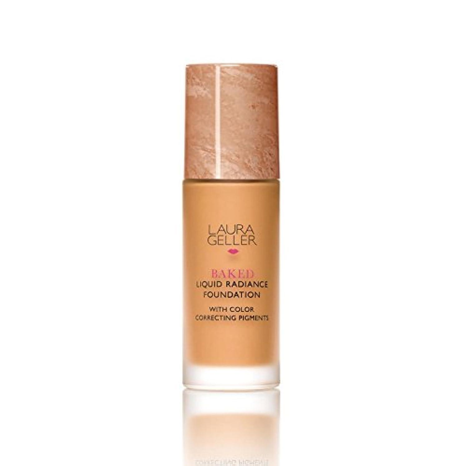 合わせて年金発動機Laura Geller New York Baked Liquid Radiance Foundation Tan (Pack of 6) - ローラ?ゲラーニューヨーク焼いた液体放射輝度基盤日焼け x6 [並行輸入品]