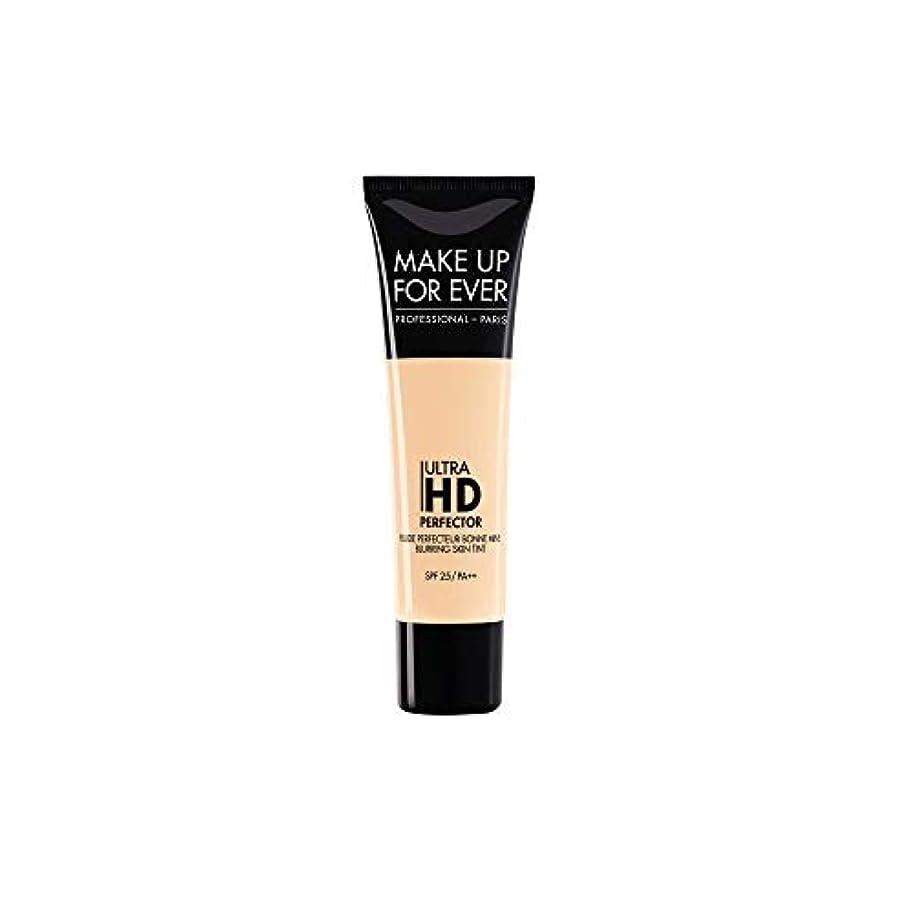 六月ステートメント有毒メイクアップフォーエバー Ultra HD Perfector Blurring Skin Tint SPF25 - # 01 Vanilla 30ml/1.01oz並行輸入品