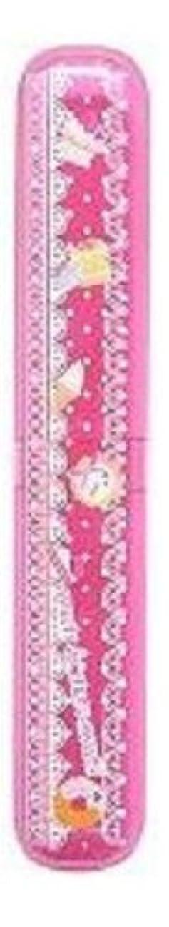 アスリート寓話ドーム磨きやすい歯ブラシ デザインケース?歯磨きチューブ付き LT-16