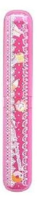 ルビーエスカレーター有名人磨きやすい歯ブラシ デザインケース?歯磨きチューブ付き LT-16